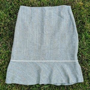 •Halogen• Wool Skirt